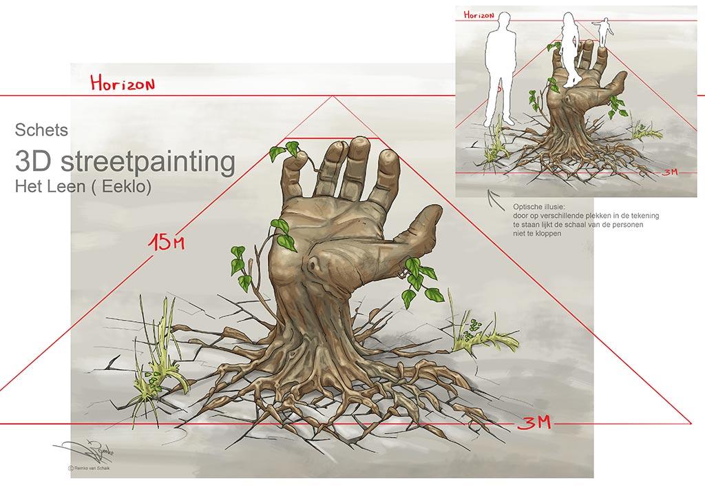 3D Sketch for Domein Het Leen