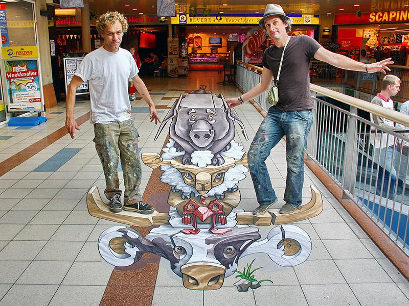 Totem at Streetpaint Festival Rijssen