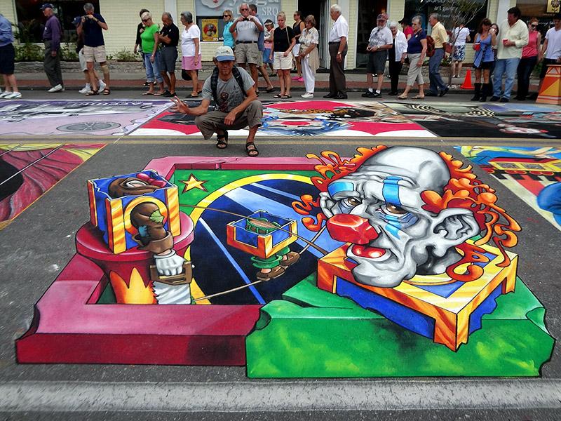 3d-streetpainting-remko-van-schaik-3d-streetpaint-festival-sarasota-2012-2
