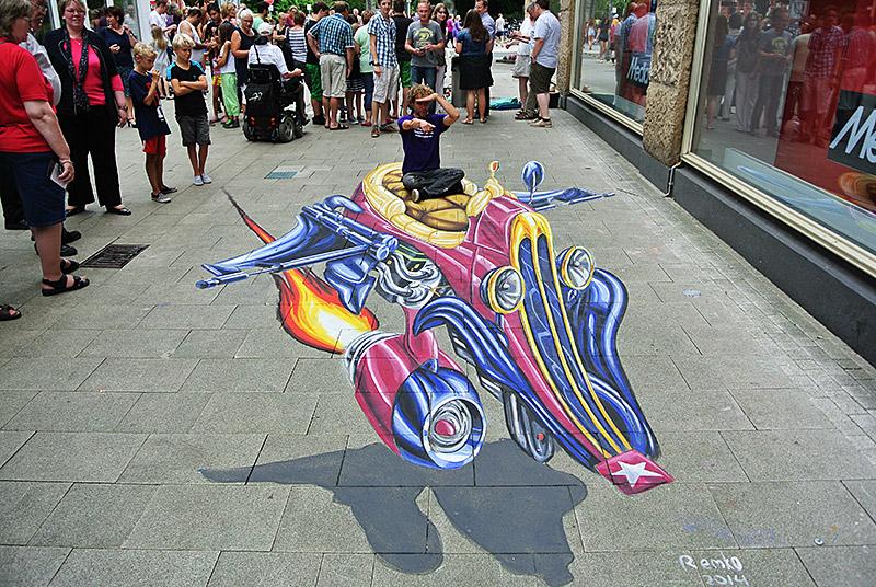 3d streetpainting portfolio 3d street art anamorphic paintings