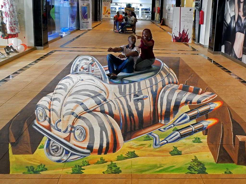 Remko van schaik 3d streetpainting 3d streetpaintings for 3d mural art in india