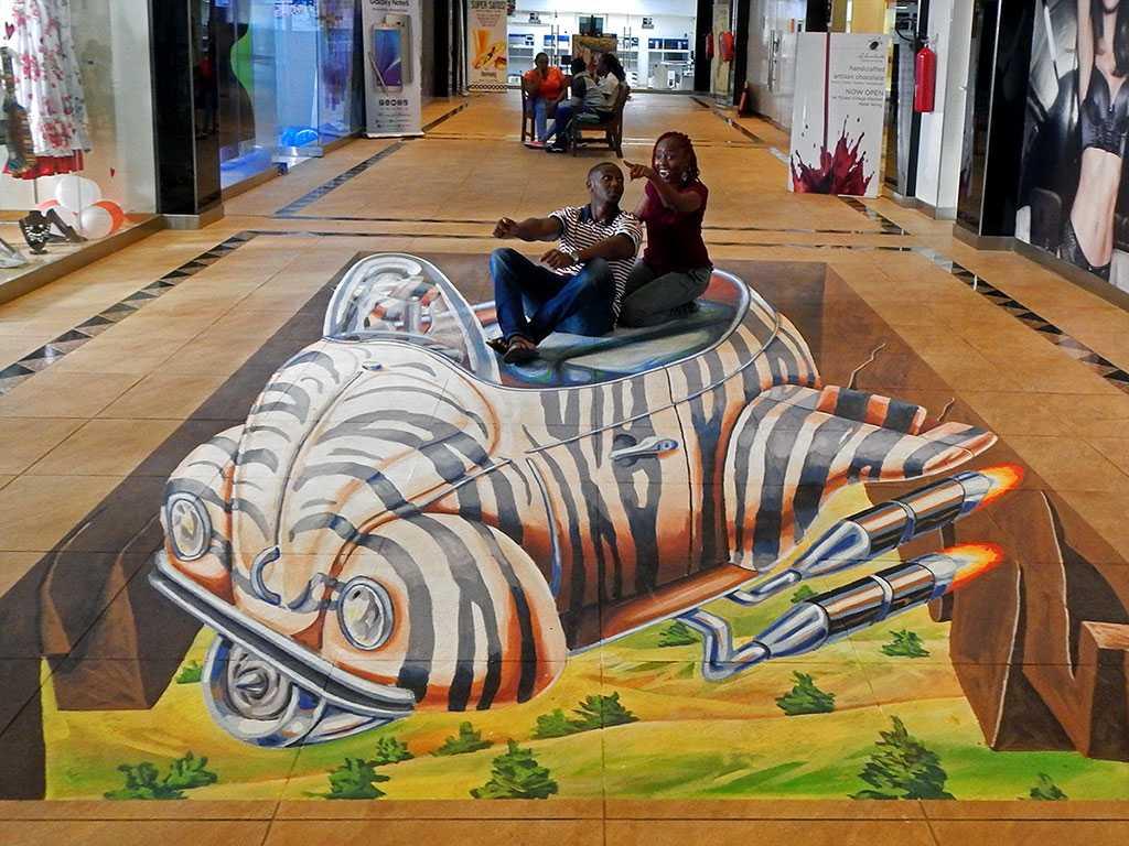 3D Streetpainting Street art festival Nairobi, Kenya
