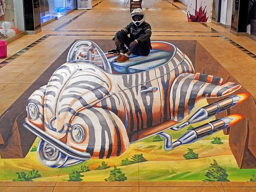 3d-streetpainting-3d-flying-safari-remko-van-schaik-3d-street-art-festival-wall-2-Mall-nairobi-kenya-2