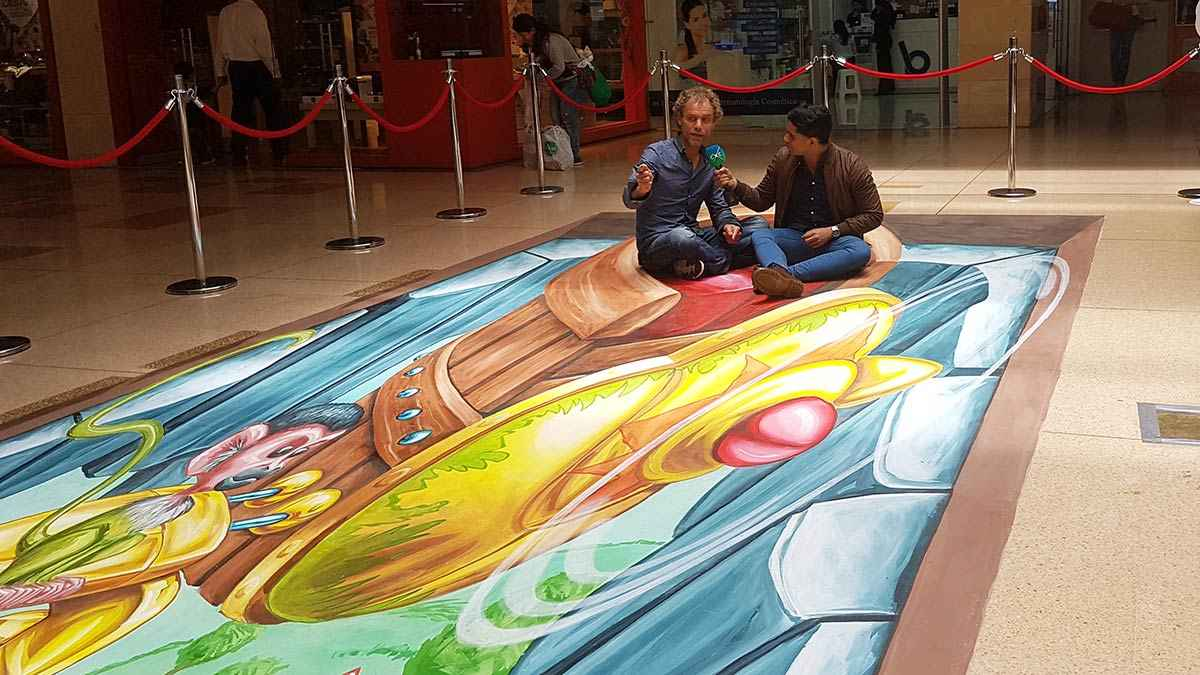 3d-streetpainting-3d-international-artwalk-3d-we-talk-chalk-remko-van-schaik-santafe-shoppingmall-bogota-colombia-4