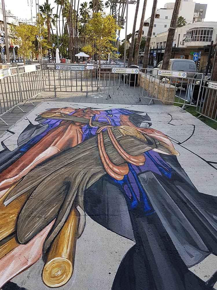 3d-streetpainting-3d-streetart-remko-van-schaik-3d-streetart-festival-afula-israel-2