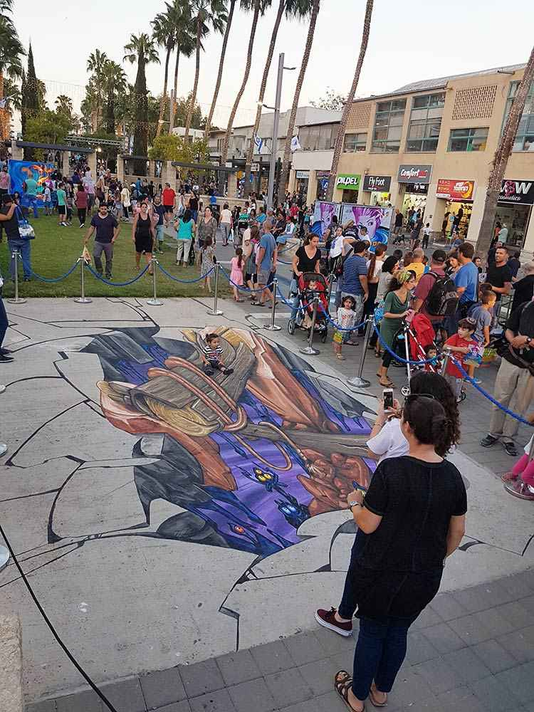 3d-streetpainting-3d-streetart-remko-van-schaik-3d-streetart-festival-afula-israel-4