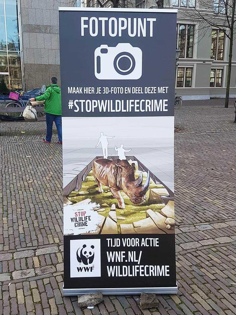 3d-streetpainting-stop-wildlife-crime-wwf-wildlife-justice-commission-vietnam-vredespaleis-den-haag-remko-van-schaik-3