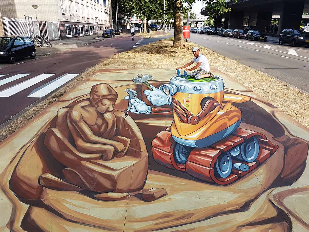 3D Streetpainting World Street Painting Festival 2018